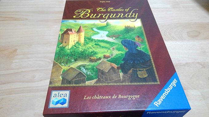 ブルゴーニュの城 -外箱-